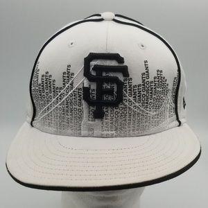 San Francisco Giants New Era 59Fifty sz 7 5/8 hat